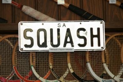 squash license plate