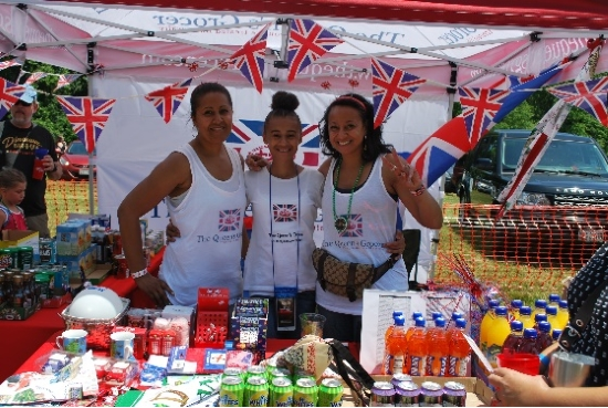 british food vendor