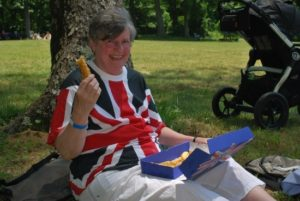 eating british food