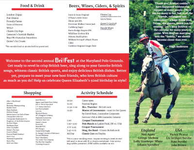 BritFest program